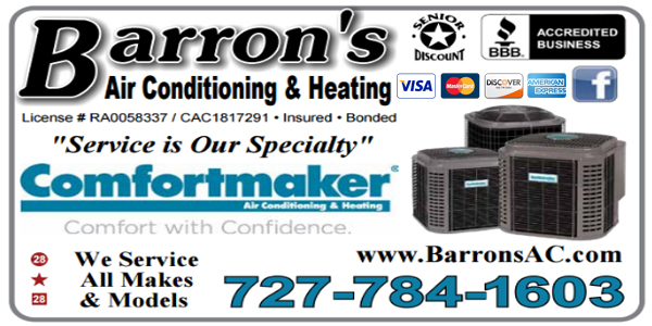 Barron S Air Conditioning And Appliance Service Inc Has